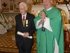 dsc_2652_700w Peter Reynolds being presented with Papal Bene Berenti Medal for Long Standing Service to the Parish