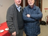 Eamonn McPartland our Parish Website Administrator with Dermot Gannon