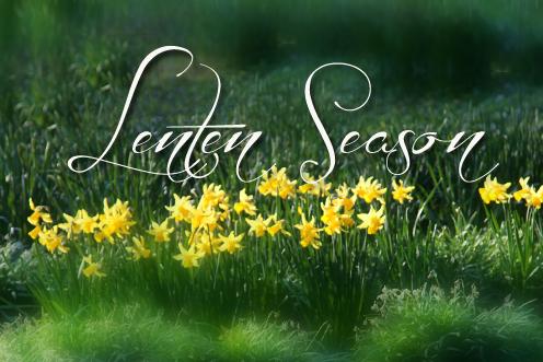 Lent 2021 Week 1